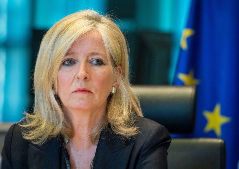 Europese ombudsman Emily O'Reilly. Beeld EPA