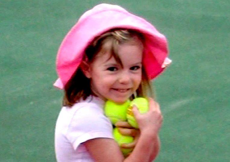 Madeleine McCann, kort voor haar vierde verjaardag verdwenen. Beeld EPA