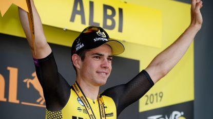 """Wout van Aert verbaast zelfs zijn eigen ploeg: """"Dit is de nieuwe Boonen"""""""