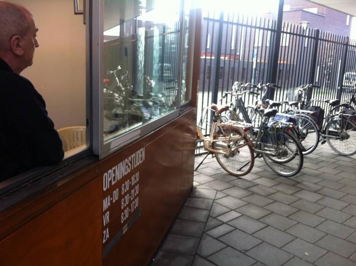 De bewaakte fietsenstallingen in Etten-Leur zijn sinds 1 januari 2014 gratis. Archieffoto Irmgard Breugelmans