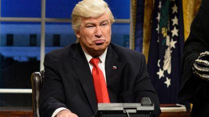 Trump windt zich weer op om persiflage in 'Saturday Night Live'