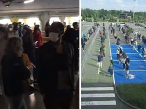 De longues files devant les Ikea, Action et Primark pour la réouverture des magasins
