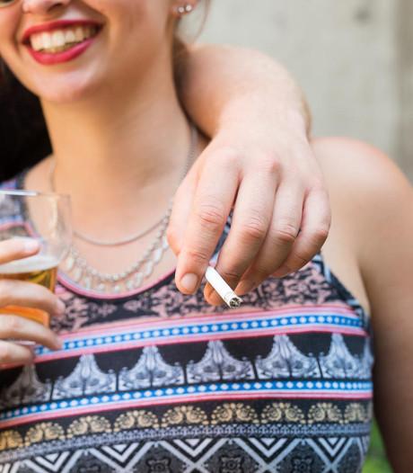Gros pubers belooft niet te roken en te drinken