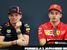 Verstappen: Met Leclerc bij Ferrari? Denk niet dat dat gebeurt