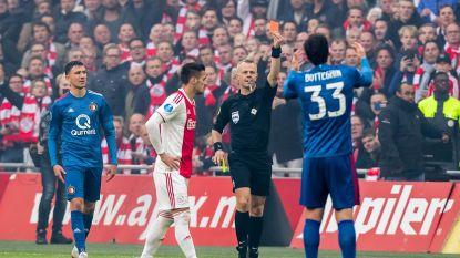 Ajax klopt Feyenoord op halve snelheid in de Klassieker met 3-0