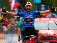 Ciccone wint zware Mortirolo-rit, Roglic verliest meer dan minuut