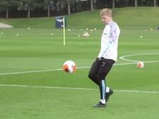 Kevin De Bruyne a repris les entraînements de groupe à Manchester City