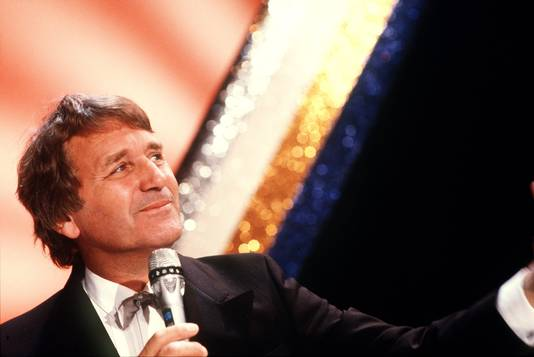 Henk Elsink in zijn laatst one-man-show in 1986.