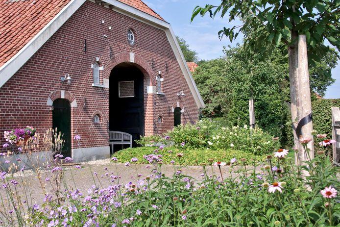 Tuin bij Jacqueline Collou in de Eibergse buurtschap 't Loo.
