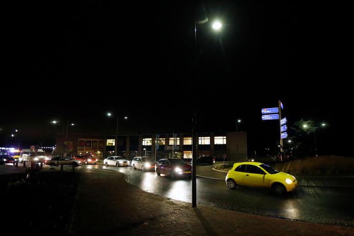 Jan Steenlaan/Soestdijkseweg-Noord in de avondspits.