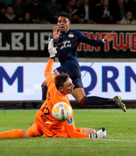 Willem II stelt in eigen huis flink teleur tegen PSV