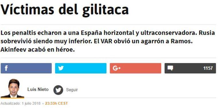Slachtoffers van het 'gilitaca'.