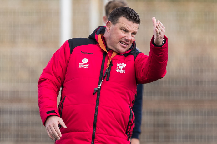 Trainer John Stegeman (Go Ahead Eagles).