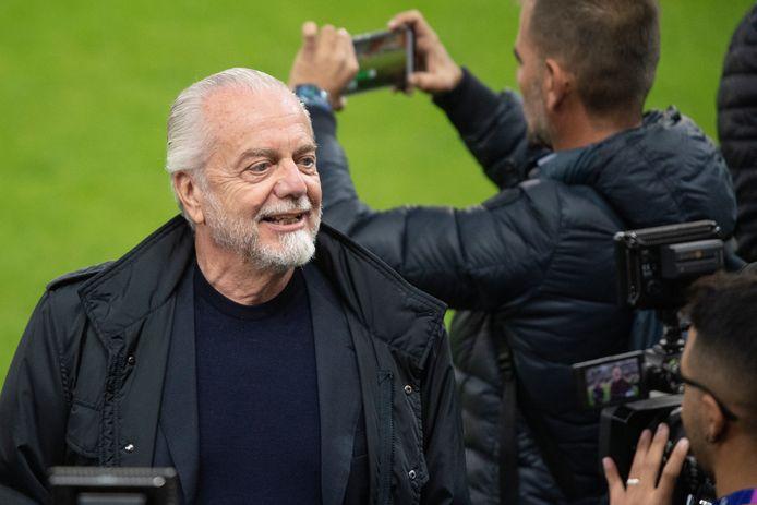 Aurelio De Laurentiis, grand patron du Napoli n'est séduit par le joueur, il aussi séduit par la personnalité de l'ailier de poche des Diables Rouges.