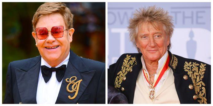 Elton John en Rod Stewart zijn niet langer vrienden