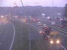 A2 richting Eindhoven weer vrij na ongeluk en truck met pech