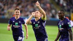 Domme rode kaart Vranjes smet op simpele zege Anderlecht, dat perfect rapport behoudt