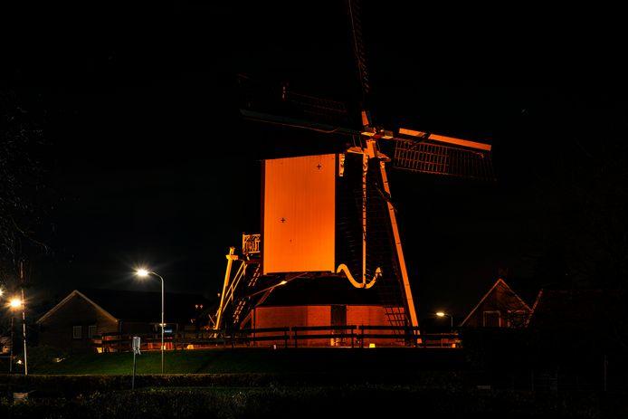 Molen De Haag in Beuningen.