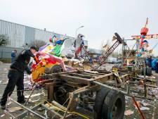 Oosterhoutse carnavalswagens roemloos verpulverd