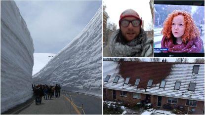 """Van """"slechte dag voor henneptelers"""" tot """"nu hebben we iedereens tuin gezien"""": de grappigste tweets over de sneeuw"""