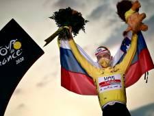 """Les médias slovènes saluent un """"jour historique"""" après le doublé au Tour de France"""