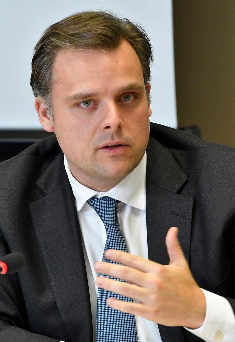 Staatssecretaris voor Privacy Philippe De Backer (Open Vld).