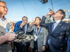 Sores zijn even vergeten bij opening oesterseizoen