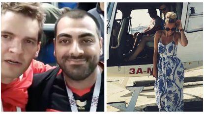 SHOWBITS. Bahador analyseert het verlies van de Rode Duivels en Eline De Munck kruipt in een heli