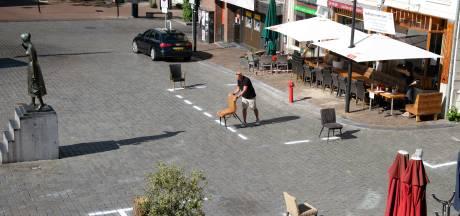 'NEC-belijning' bij Nijmeegse terrassen alweer verdwenen