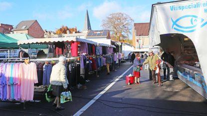 Geen markt op Kerstdag en Nieuwjaar