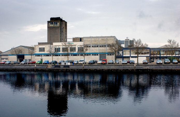 Het voormalige terrein van Asebestona in Harderwijk.