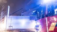 Pas vernieuwde Stedelijke Sporthal in Oudenaarde loopt averij op aan het dak
