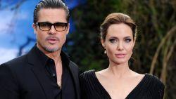 Brad Pitt en Angelina Jolie vechten om de voogdij van hun kinderen