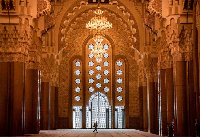 De Hassan-II moskee in Casablanca