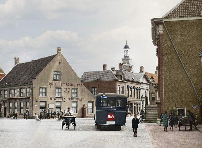 De Haagsemarkt in 1925.