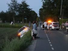 Automobilist onder invloed belandt in sloot in Ederveen