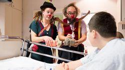 Marjolein is eerste zorgclown in loondienst ziekenhuis