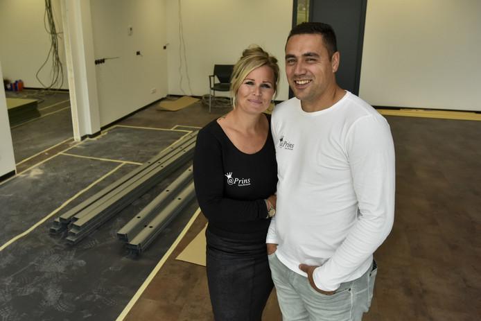Ferry en Samantha Alfons openen binnenkort Broodje Prins in Waalwijk.