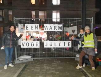 Wereldfront Zingem verrast bewoners en personeel van rusthuizen met opbeurende boodschappen