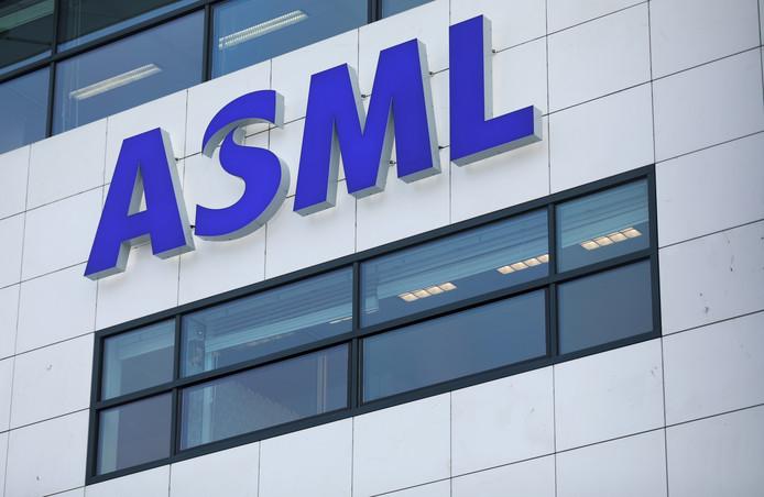 Het hoofdkantoor van ASML in Eindhoven.