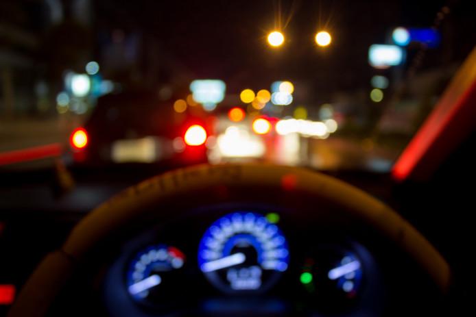 Drunk drive car dronken bestuurder alcohol stock
