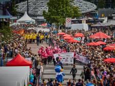 Roparun ook door stadion FC Groningen