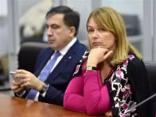Oud-president Saakasjvili is tot 2021 niet welkom in Oekraïne