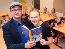 Mayke (12) uit Goor schrijft eigen kinderboek over magische camping