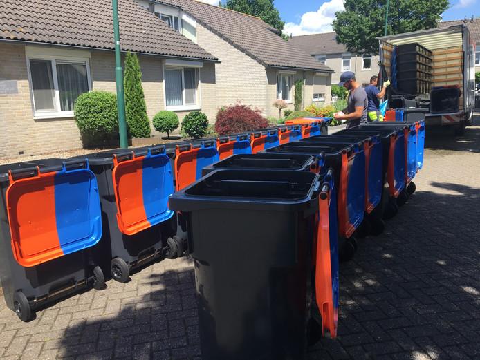 Goirle verspreidde nieuwe kliko's om afval beter te scheiden.