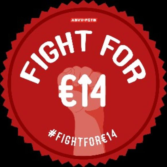 Fight for €14 - ABVV