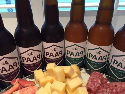 PAAP Blond en PAAP Krachtig Dubbel van PAAP Bier Broeders.