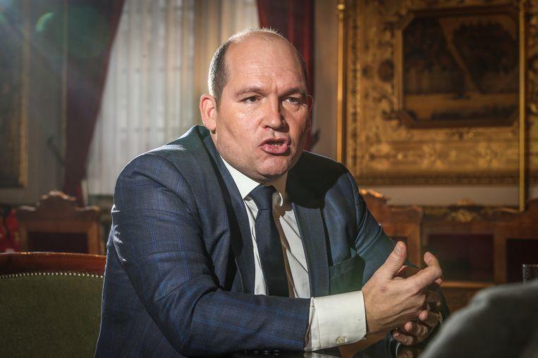 Burgemeester van Brussel Philippe Close