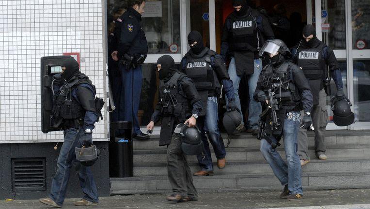 Een politie-arrestatieteam. © ANP Beeld