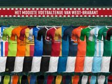 Welke amateurclub heeft het mooiste voetbaltenue van West-Brabant?
